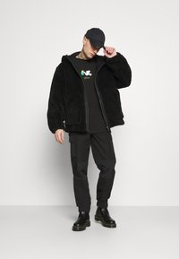 Topman - HOODED - Tunn jacka - black - 1