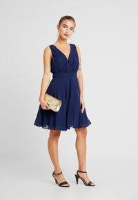 TFNC Petite - VIVIAN DRESS - Cocktail dress / Party dress - navy - 2