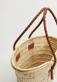 Mango - OVALO - Handtasche - mellanbrun - 1