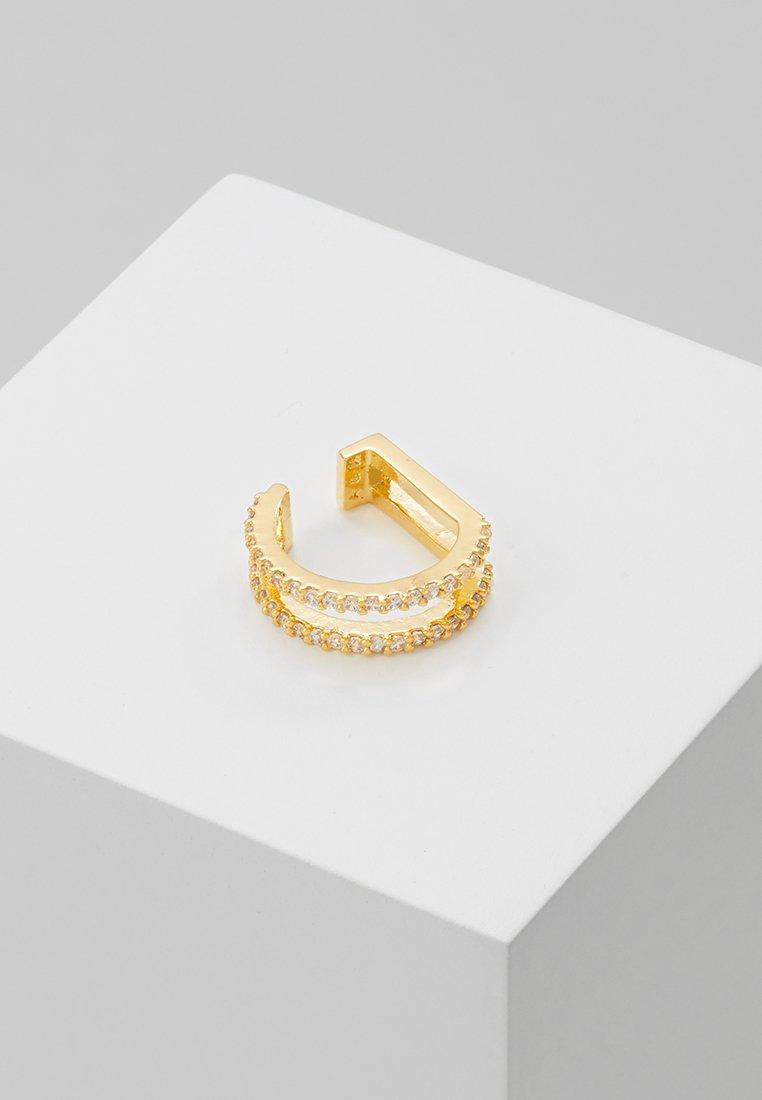 Astrid & Miyu - WISHBONE EAR CUFF - Earrings - gold-coloured
