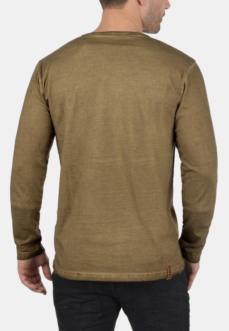 Solid THARAN - Langarmshirt - ermine/beige WWZD5L