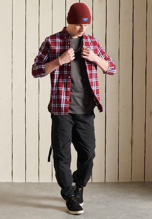 SUPERDRY  - Chemise - hoxton check red
