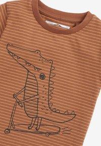 Next - Print T-shirt - brown - 2
