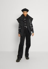 Monki - Trousers - black dark - 1