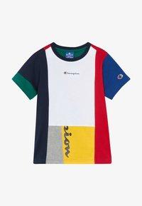 Champion - ROCHESTER TEAM STRIPES CREWNECK - T-shirt con stampa - multicoloured - 3