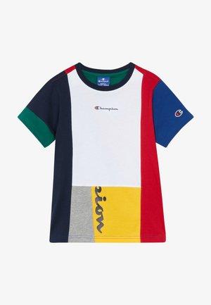 ROCHESTER TEAM STRIPES CREWNECK - T-shirt con stampa - multicoloured