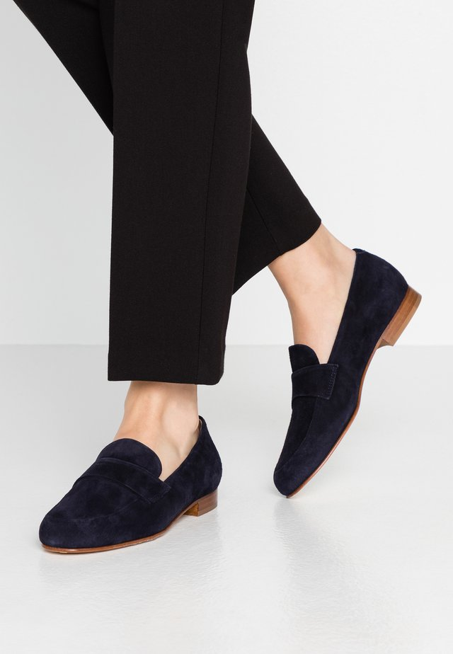Slippers - dark blue