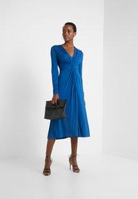 Escada - DAHLIAS - Jersey dress - patchouli blue - 1