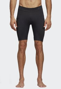 adidas Performance - ALPHASKIN TECH SHORT 3-STRIPES TIGHTS - Sports shorts - black - 0