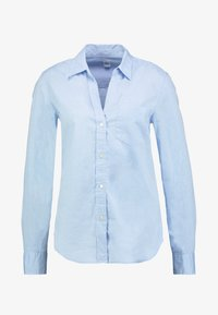 GAP - FITTED OXFORD - Button-down blouse - light blue - 4