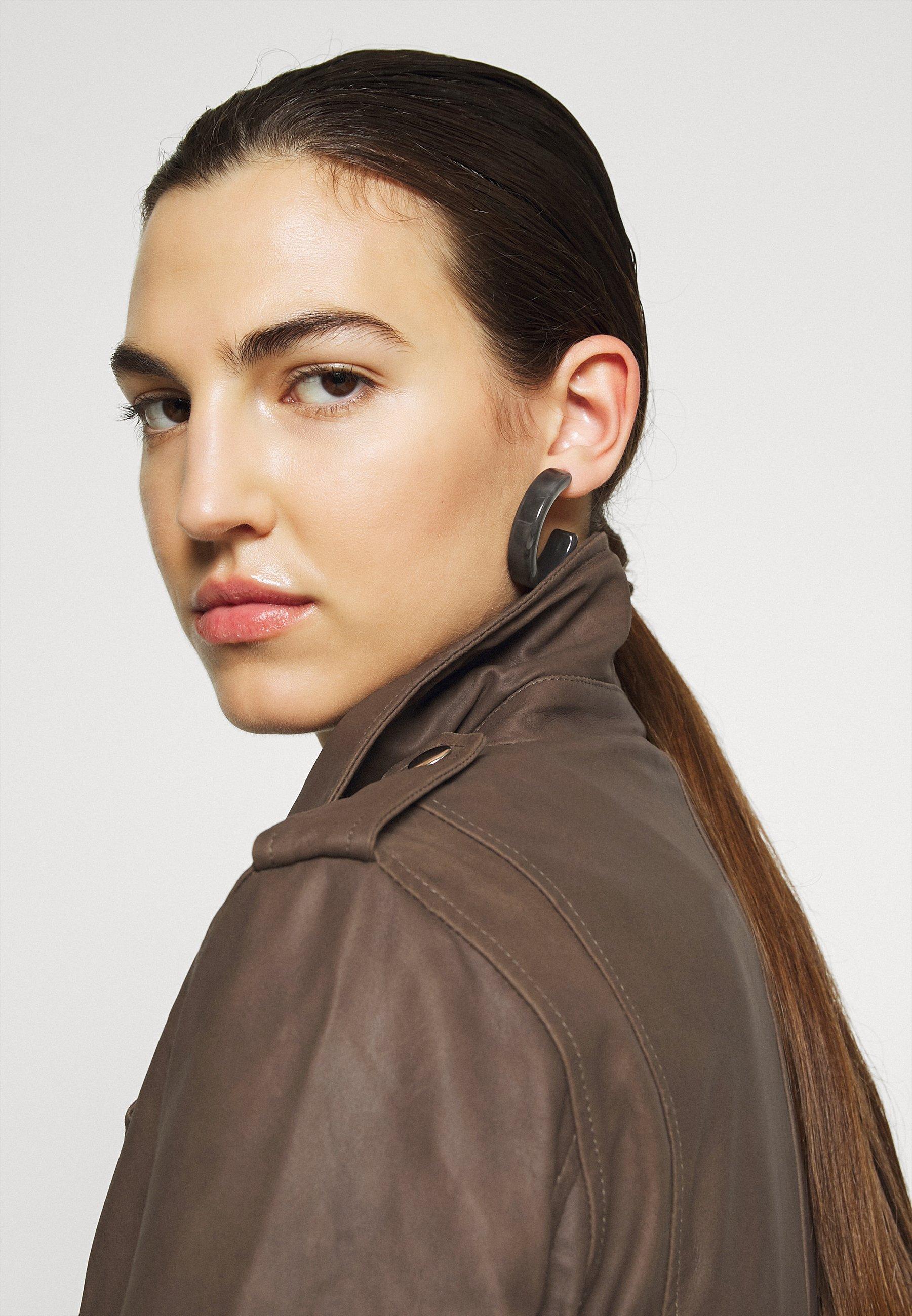 Shopping Online Women's Clothing DEPECHE JACKET Leather jacket dusty taupe 2bLDjctsb