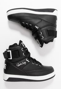 Ewing - 33 HI - Höga sneakers - black/white - 8