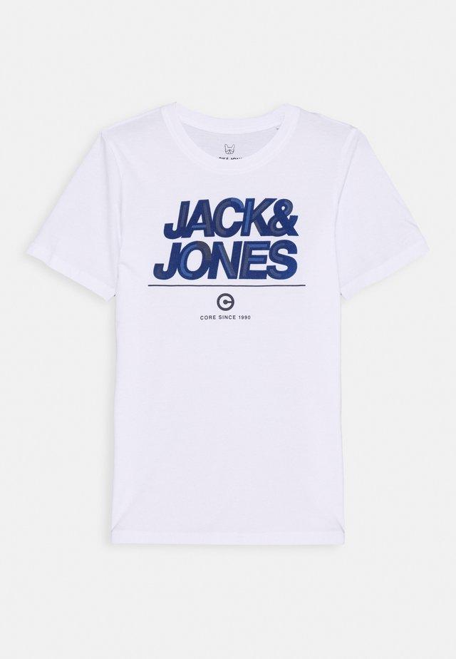 JCOBERG TURK TEE  - T-shirt print - white