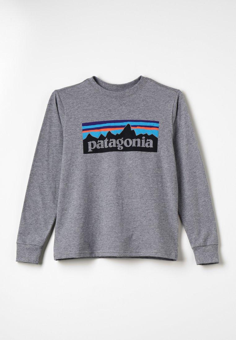 Patagonia - GRAPHIC ORGANIC UNISEX - T-shirt à manches longues - gravel heather