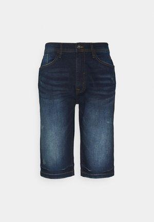 Denim shorts - denim dark blue
