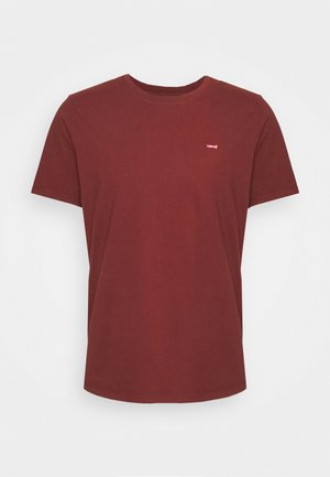 ORIGINAL TEE UNISEX - T-shirt con stampa - madder brown