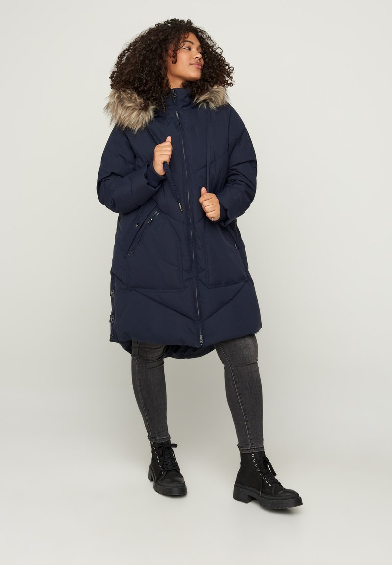 Zizzi - Winter coat - dark blue