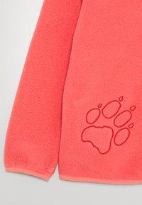 Jack Wolfskin - BAKSMALLA JACKET KIDS - Fleece jacket - coral pink - 2