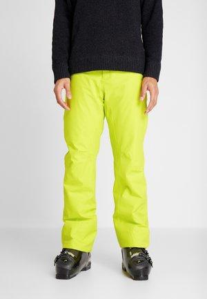 SUMMIT PANTS - Pantalon de ski - yellow