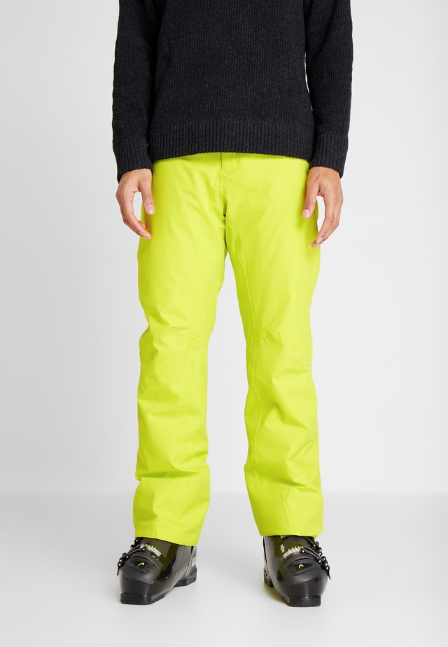 SUMMIT PANTS - Talvihousut - yellow