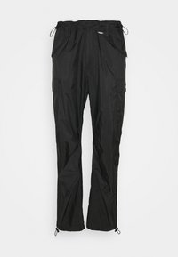 TRANSLUCENT PANTS - Reisitaskuhousut - black