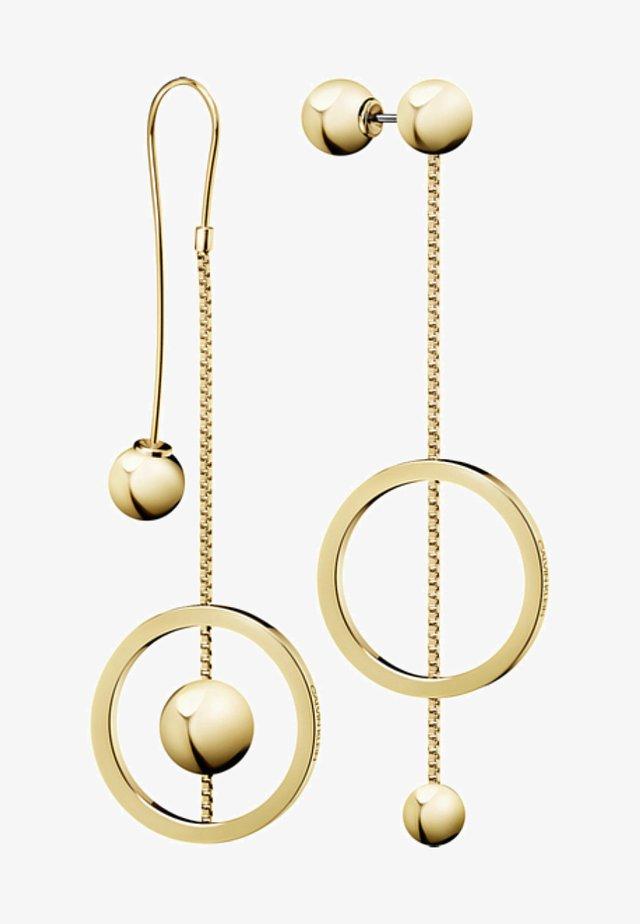 Earrings - gold_coloured