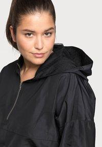 Noisy May Curve - NMKAJA HOOD - Summer jacket - black - 3