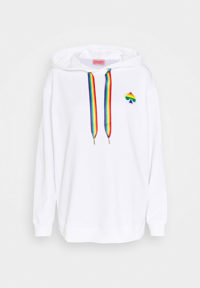 SPADE PRIDE HOODIE - Jersey con capucha - fresh white