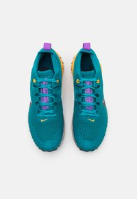Nike Performance - WILDHORSE 7 - Trail running shoes - mystic teal/dark smoke grey/turquoise blue/universe gold/wild berry/fossil stone - 3