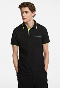KARL LAGERFELD - Polo shirt - black - 0