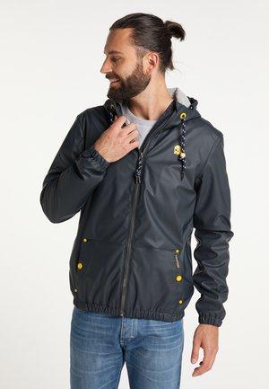 REGEN - Waterproof jacket - dunkelmarine