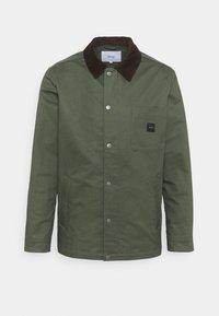 DOCK JACKET - Klasický kabát - green