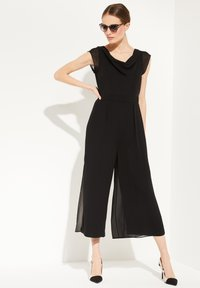 comma - OVERALL  - Jumpsuit - black - 1