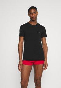 Versace - 2 PACK - Undershirt - black - 1