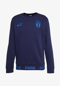 Puma - ITALIEN FIGC CULTURE CREW SWEATER - Sweatshirt - peacoat/team power blue - 5