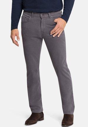 POCKET RANDO - Straight leg jeans - steingrau