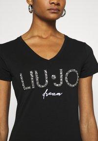 Liu Jo Jeans - MODA  - T-shirts print - nero - 4