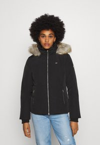 Tommy Jeans - TECHNICAL - Down jacket - black - 0
