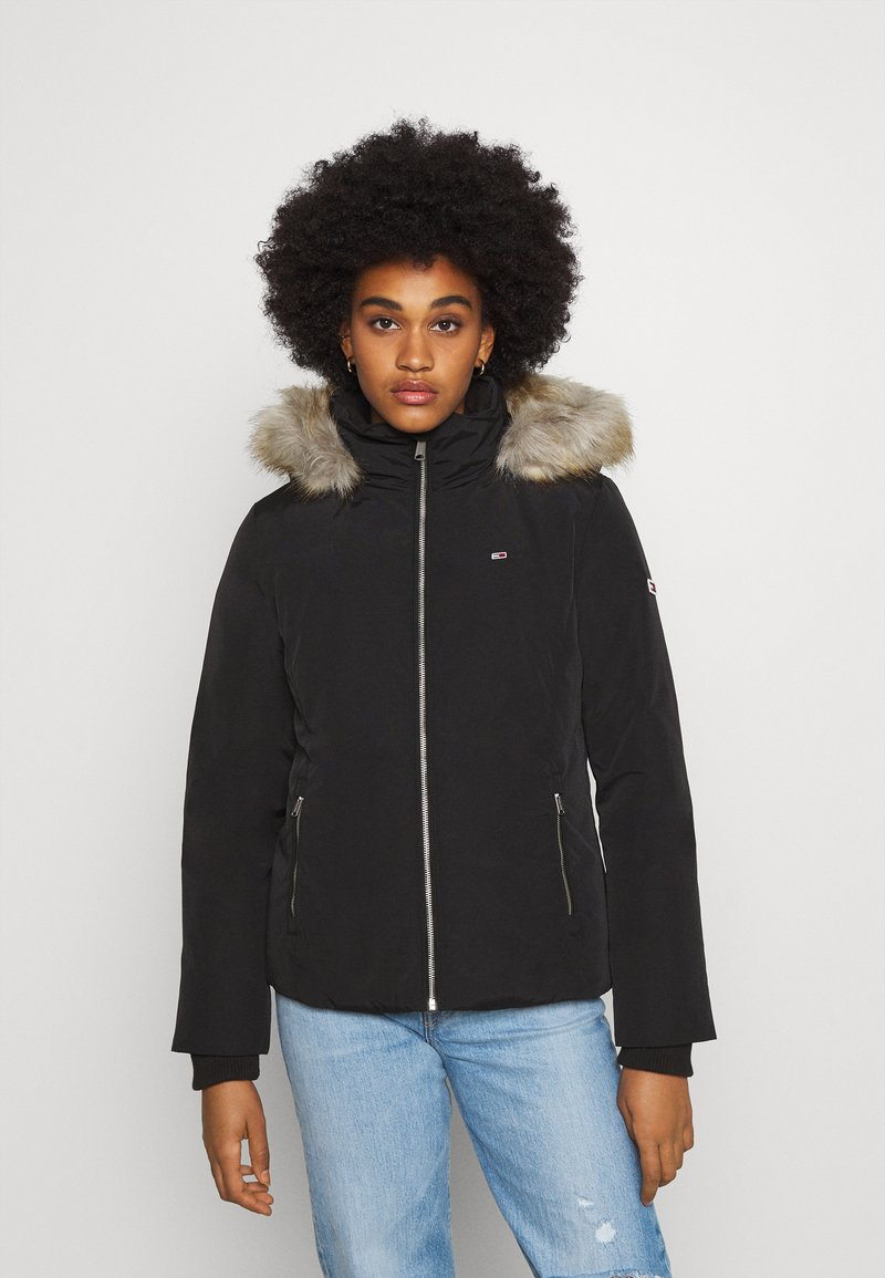Tommy Jeans - TECHNICAL - Down jacket - black