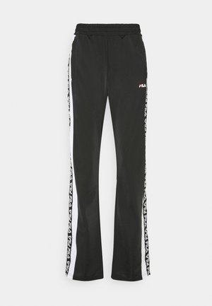 TAOTRACK PANTS OVERLENGTH - Träningsbyxor - black/bright white