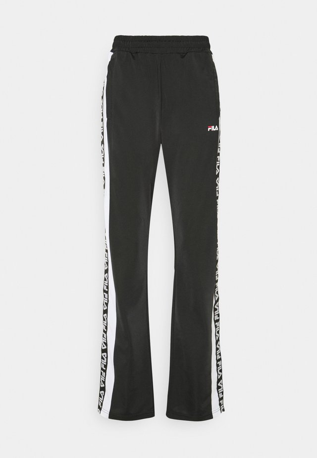 TAOTRACK PANTS OVERLENGTH - Pantalon de survêtement - black/bright white