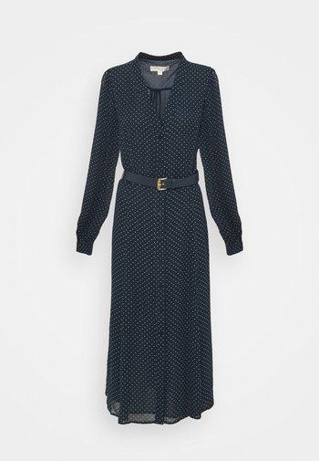 PERFECTION BELTED - Korte jurk - dark blue
