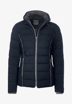 MIT STEPPUNG - Winter jacket - blau