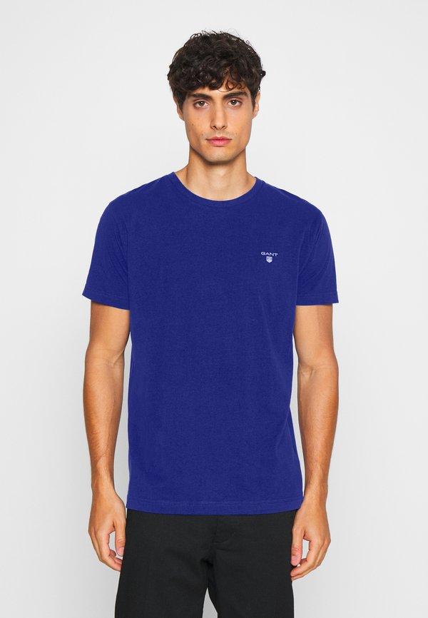 GANT THE ORIGINAL - T-shirt basic - crisp blue/niebieski Odzież Męska HYWW