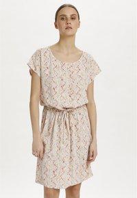 Soaked in Luxury - SL LAVADA - Sukienka letnia - whisper white splash print - 0
