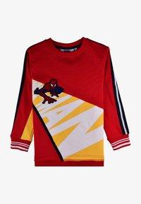 Fabric Flavours - MARVEL SPIDER-MAN CRAWL SWEATSHIRT - Sweatshirt - red - 1