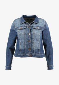 Zizzi - LONG SLEEVE - Denim jacket - blue denim - 4