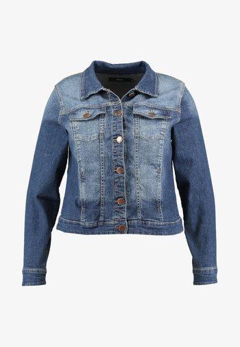 LONG SLEEVE - Denim jacket - blue denim