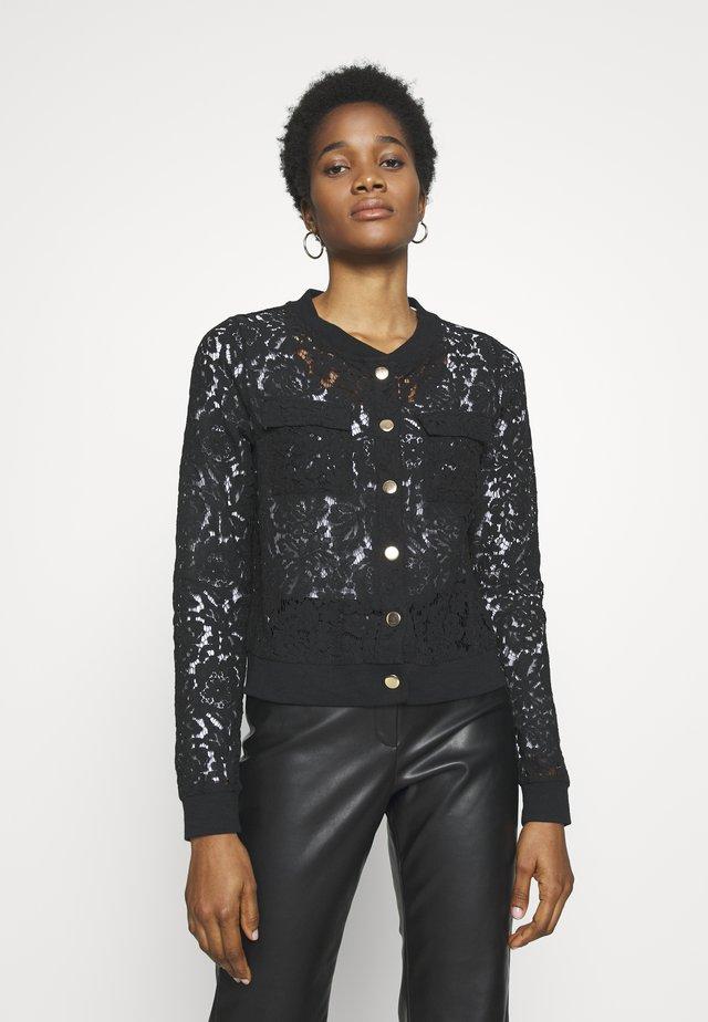 NMNINA JACKET - Summer jacket - black