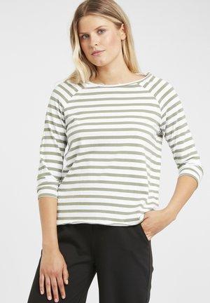 SHAN - T-shirt à manches longues - sea green combi